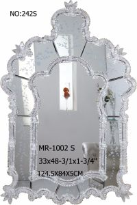 Special Shape of Crystal Frame Decor Mirror pictures & photos