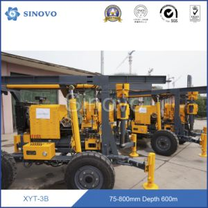 Hot Sale Borehole Water Well Core Rotary Truck Mounted Portable Water Well Drilling Rig pictures & photos