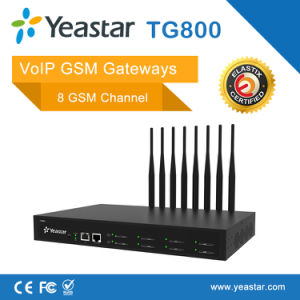 Yeastar 8 GSM Channel Support SIM Card and SMS VoIP GSM Gateway pictures & photos