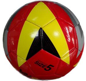 Top Quality Machine Stitched Shiny Size 5 TPU Football