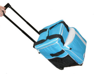 Picnic Foldable Trolley Cooler Bag pictures & photos