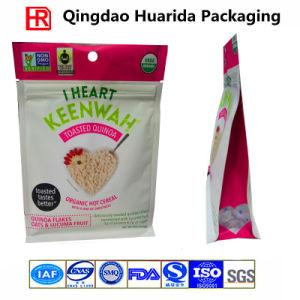 2017 Resealable Plastic Square Bottom Ziplock Bag for Quinoa pictures & photos