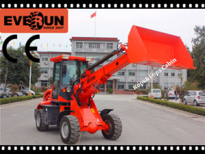 Er1500 Front End Loader with Telescopic Arm Rops&Fops pictures & photos