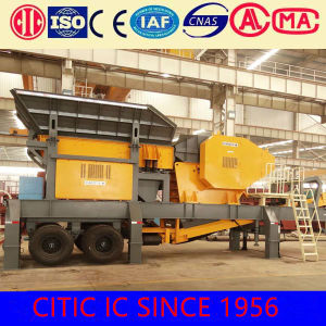 High Efficient Best Price Stone Mobile Crusher pictures & photos