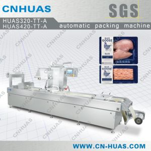 Automatic Skin Packaging Machine for Chicken, Meat and Pork pictures & photos