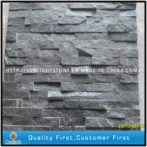 Culture Stone Black Slate with Natural Split Surface for Wall Cladding pictures & photos