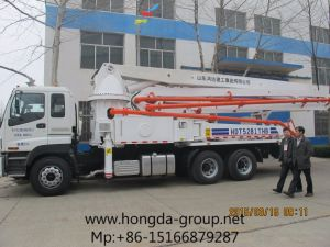 Hongda Group 37m Concrete Pump with Boom pictures & photos