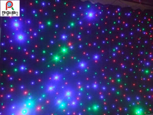 LED Star Cloth Curtain/ LED Twinkling Starlit Curtain/ LED Effect Light pictures & photos