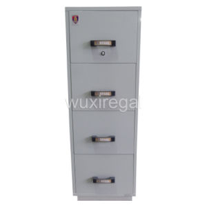 UL 2-Hour Fire-Resistant Filing Cabinet, High Quality Office Furniture (UL824FRD-II-4001) pictures & photos