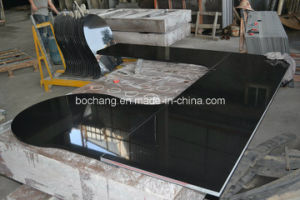 Shanxi Black Granite Polished Kitchen Countertop pictures & photos