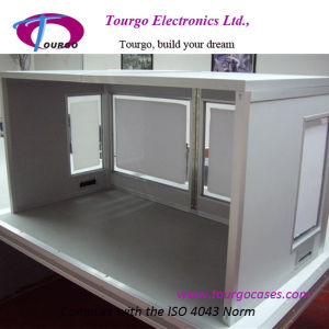 Tabletop Interpretation Booth Can Accommodate 1 or 2 Interpreters