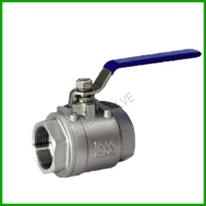 Two Pieces Ball Valve-Stainless Steel Screw Thread Ball Valve pictures & photos