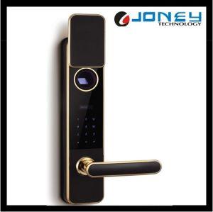 Electronic Fingerprint Biometric Door Lock with Ten Digit Kepad pictures & photos