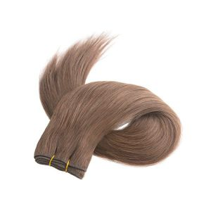 Double Drawn Russian Remy Human Hair Weft pictures & photos