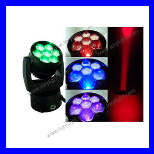 Stage Light 7PCS*12W LED Zoom Moving Head pictures & photos