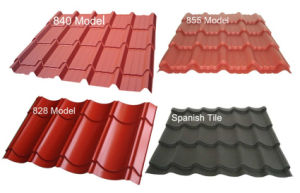 Color Galvanized Corrugated Sheet, Zinc Coated Roofing Sheet