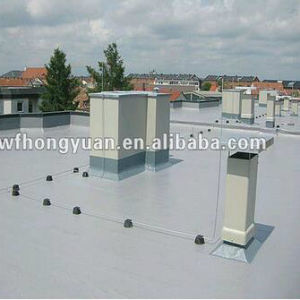 Anti-UV PVC Polymer Single-Ply Roof Waterproof Foil (ISO) pictures & photos