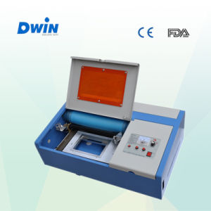 40W CO2 Laser Engraving Cutting Machine for Paper pictures & photos