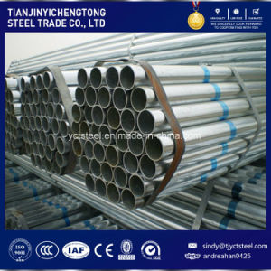 Zn60 Galvanized Steel Pipe Price Thread Ends pictures & photos