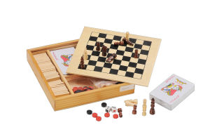 Wooden Chessboard Toy Chess Game (CB2202) pictures & photos