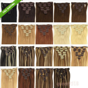 Remy Human Hair Extensions Clip in Hair pictures & photos