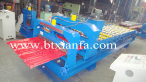 Glazed Roofing Tile Roll Forming Machine (XF25-210-1050)