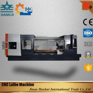 Automatic Lubrication Flat Bed CNC Lathe (CK6140) pictures & photos