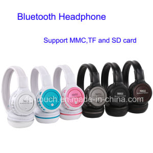 Wireless Bluetooth Headphone with TF Card Slot (N85S) pictures & photos