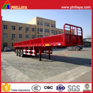 40FT Cargo Carrier Semi Bulk Truck Trailer with Side Wall pictures & photos