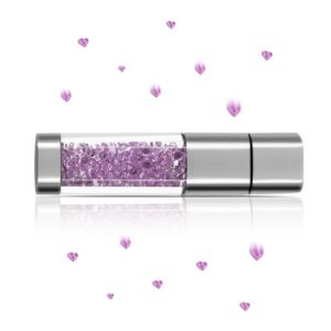 Luxury Gift Crystal USB Flash Drive Available up to 64GB pictures & photos
