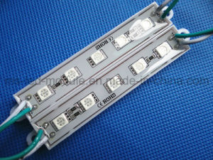 Factory SMD 5050 5LED Waterproof Module DC12V pictures & photos