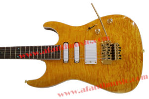 Afanti Suhr Electric Guitar with Quilted Maple Top (ASH-214) pictures & photos