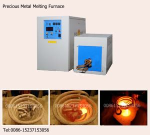 Induction Melting Furnace for Precious Metal Smelting (XZ-50B)