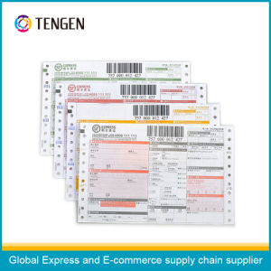 Multi Layers Logistic Courier Air Waybill with Variable Barcode Printing pictures & photos