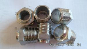 "2"" Stainless Steel 316 Knurling Pipe Fitting pictures & photos"
