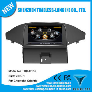Car Audio for Chevrolet Orlando with Built-in GPS A8 Chipset RDS Bt 3G/WiFi DSP Radio 20 Dics Momery (TID-C155)