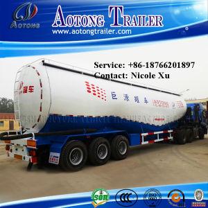 3 Axle 30t Low Density Bulk Cement Tank Semi Truck Trailer (W type) 73m³ (LAT9408GFL) pictures & photos