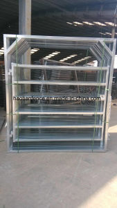 Heavy Duty Galvanized Steel Portable Cattle Yard Panel with Gate pictures & photos