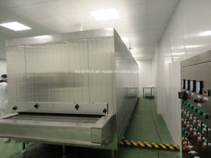 Tunnel Quick Freezer for Fish Shrimp Dumplings Bread Porridge pictures & photos