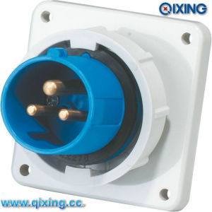 IP67 Weatherproof Male Receptacle for CE Certification (QX826) pictures & photos