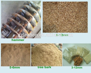 Mobile Wood Sawdust Crushing Machine pictures & photos