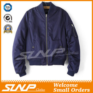 Classic Mens Waterproof Bomber Jacket with Custom Logo