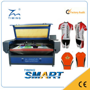 CCD Camera Scanning Edge Tracking Sportswear Laser Cutting Machine pictures & photos