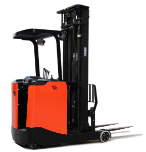 Heli 1.5 Ton Reach Forklift with Battery for Sale pictures & photos