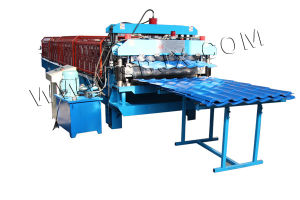 Double Tile Roll Forming Machine pictures & photos