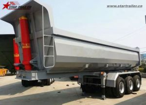 30ton U Type Hydraulic Tipper Trailer Semi Dump Trailer pictures & photos