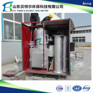 Industrial Solid Waste Incinerator, 10-500kgs/Time Waste Incineration Unit pictures & photos