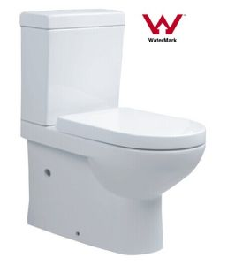 Water Saving Australian Standard Sanitary Ware Watermark Bathroom Washdown Two Piece Ceramic Washdown Toilet (558) pictures & photos