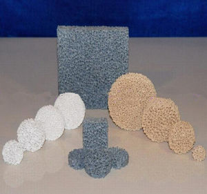 Sic/Alumina/Zirconia Ceramic Foam Filter Reticulated Filters for Metal Foundry pictures & photos