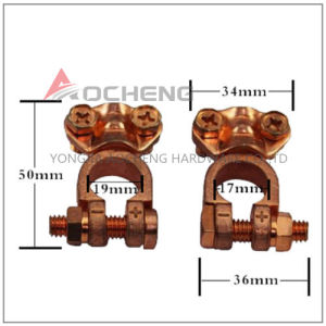 Copper Plated Car Battery Terminal Battery Connector Holder Post Clamp Clips pictures & photos
